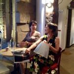 Jacq et barb assises